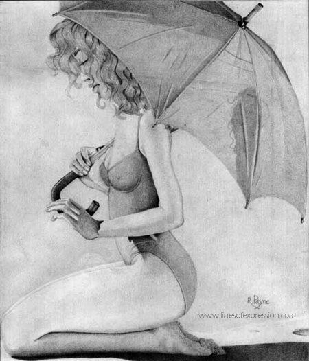 Vintage Drawing